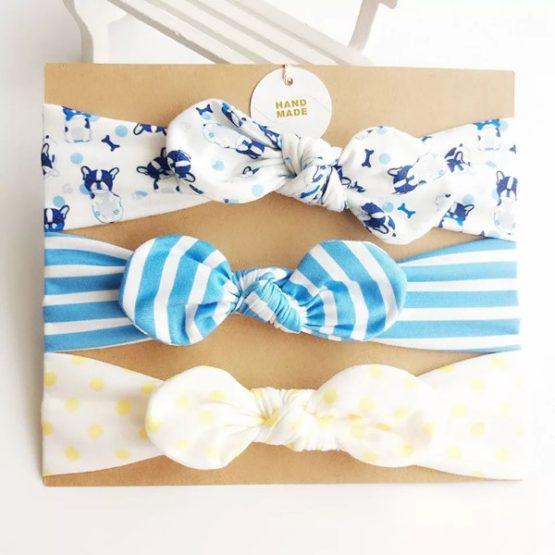 3Pcs Bow Knot Headband