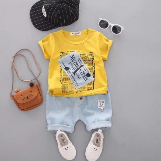 Summer Casual Boy Set 2