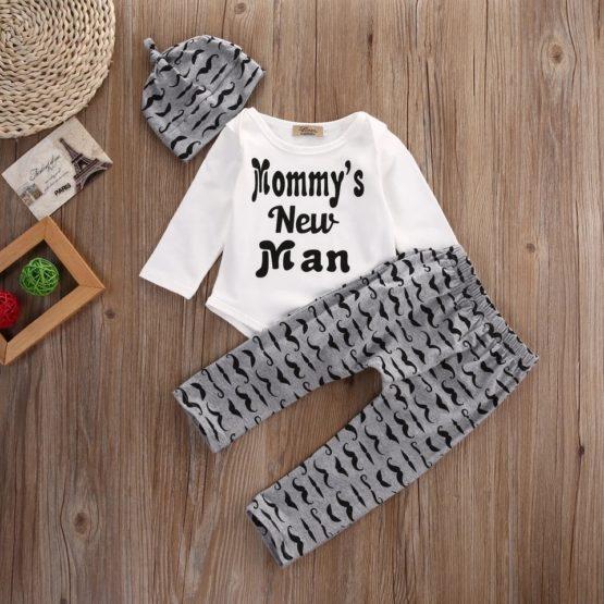3Pcs Mammy's New Man