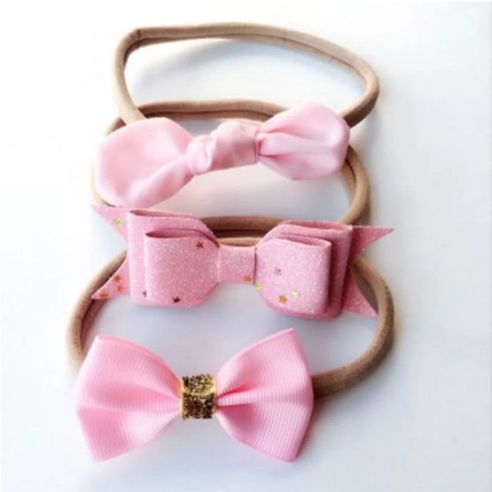 3 Pcs Headbands Handmade