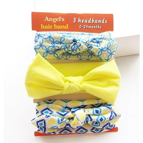 3Pcs Headband