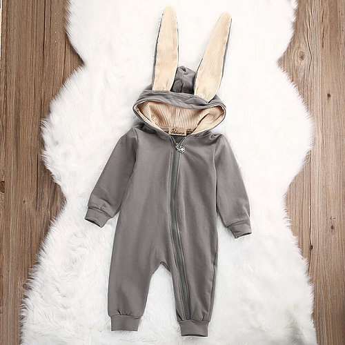 Rabbit Boy Romper