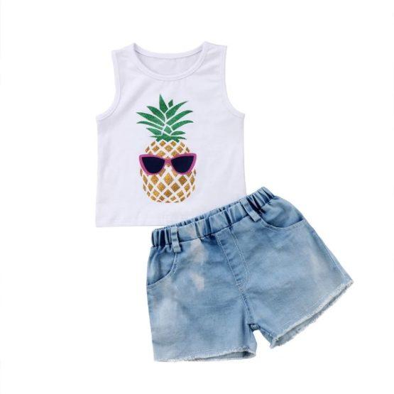 2Pcs Pineapple Set