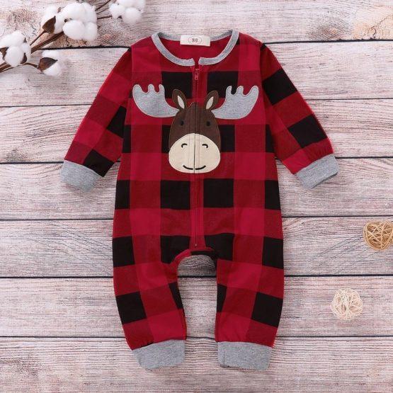 Christmas Baby Overall