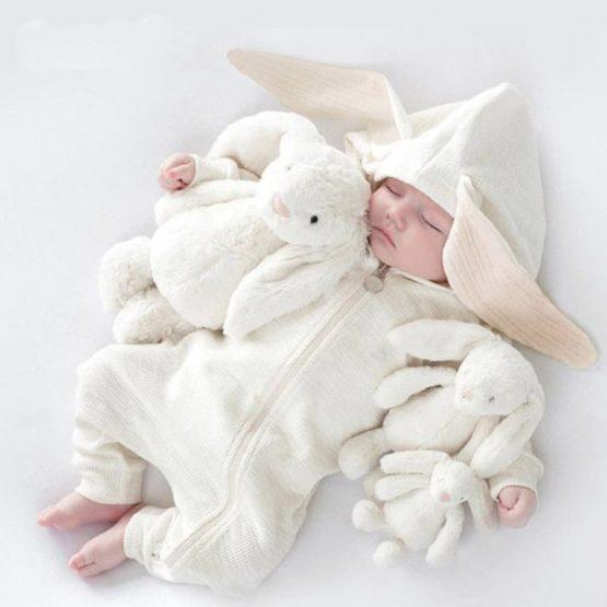 White Rabbit Romper