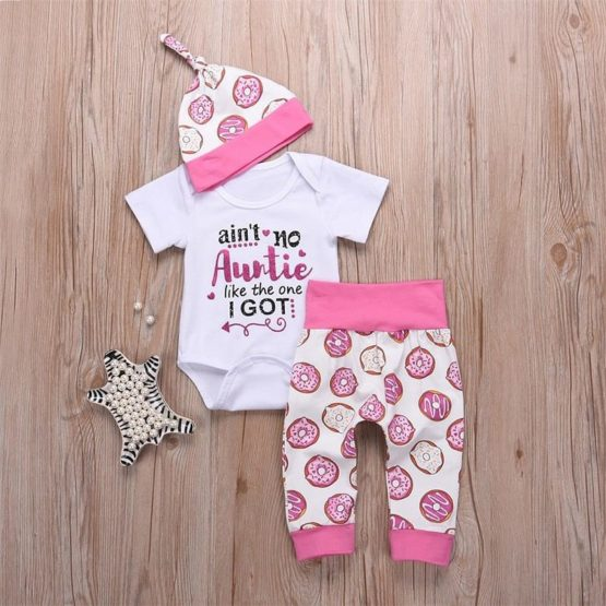3 Pcs Cotton Aunt's Set