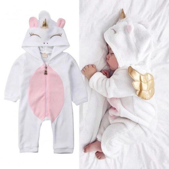Unicorn Baby Romper