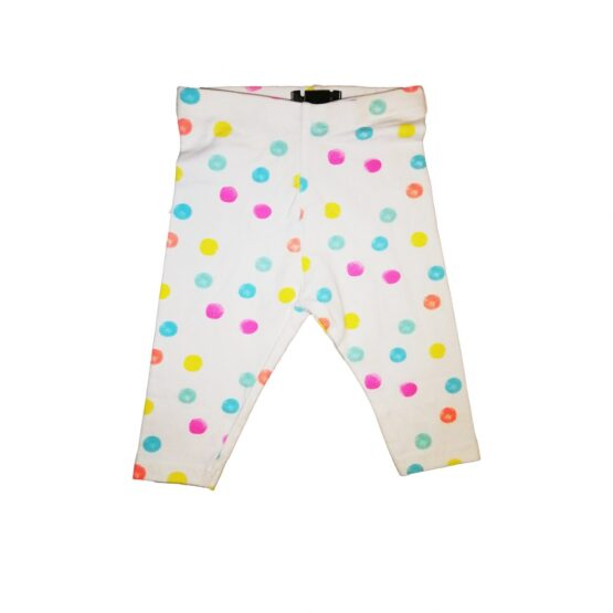 Dotted Cotton Baby Pants