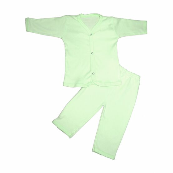 Baby Cotton Pajamas (Green)