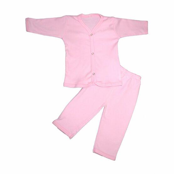 Baby Cotton Pajamas (Pink)