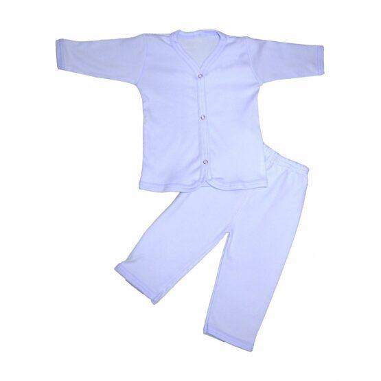 Baby Cotton Pajamas (Blue)