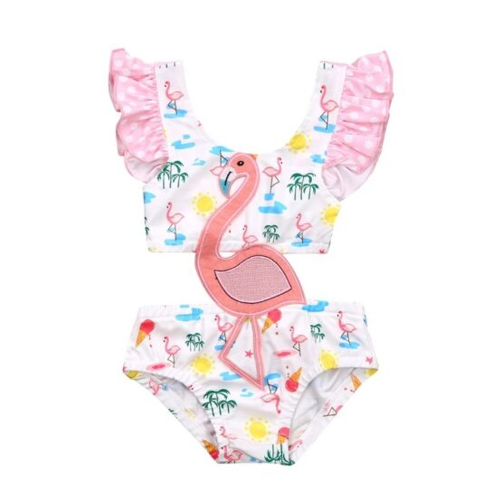 Flamingo Baby Swimsuit
