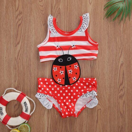 Ladybug Baby Swimsuit