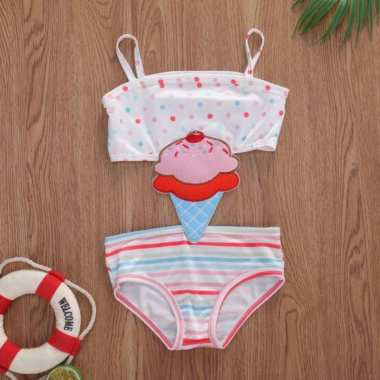Ice-cream Baby Swimsuit