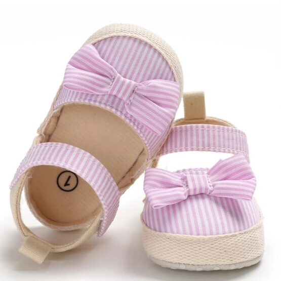 Stripped Baby Sandals